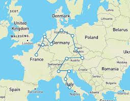 netherlands location in europe map europe trip how to plan your trip in 10 steps goeuro