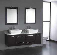 Double Sink Bathroom Vanities Sinks Set Atop A Cabinet Style - Bathroom vanity double sink ideas