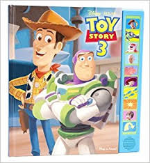 toy story 3 play sound book adapted mark rader caroline