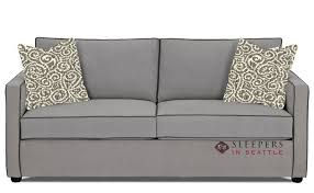 Sleeper Sofa Seattle Ship Portland Fabric Sofa By Savvy Fast Shipping