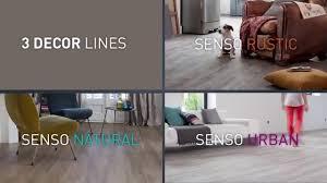 Self Adhesive Laminate Flooring Installing Senso Self Adhesive Tiles U0026 Planks Youtube