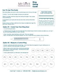 wedding ring sizes ring size guide free ring sizer my wedding ring