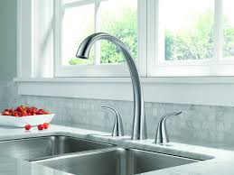 kitchen sink and faucets best two handle kitchen sink faucets reviews findthetop10 com
