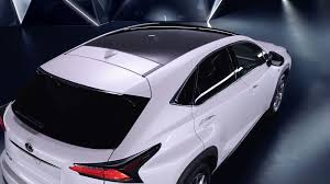 lexus new suv lineup youtube new lexus nx video shows off panoramic glass roof lexus enthusiast