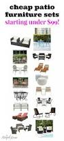 Affordable Patio Furniture Sets Cheap Patio Furniture Sets The Striped House