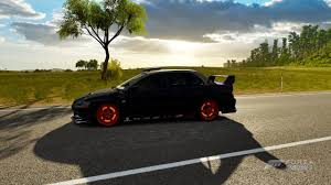 mitsubishi evo jdm jdm rally lancer evo viii forza horizon 3 youtube