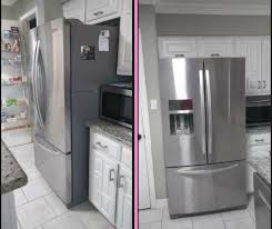 kitchen cabinet countertop depth how to choose the right fridge for a small kitchen decocco