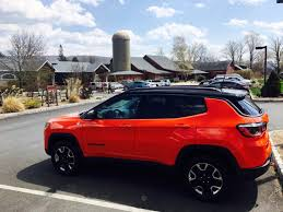 orange jeep compass we found paradise in the catskill mountains thanks to this tough