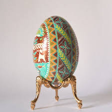 Easter Egg Decorating Baby by Engagement Gift Goose Egg Pysanka With Tree Of Life U2013 Pysanky