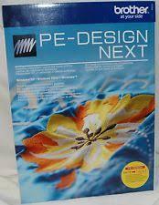 pe design embroidery machines ebay