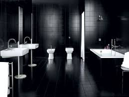 Black And White Bathroom Pueblosinfronterasus - Bathroom designs black and white