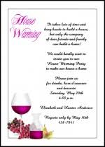 free housewarming wordings for discount 99 party invitations