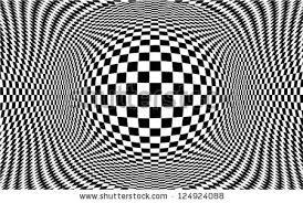 Design Black And White Op Art Design Black White Pattern Stock Vector 124924088