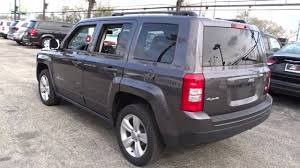 dark gray jeep patriot used one owner 2016 jeep patriot latitude chicago il south