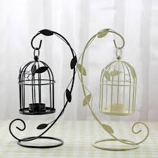 Large Candle Holders For Fireplace by Creative Wedding Gifts Wrought Iron Bird Cage Candle Holder