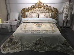 Turkish Furniture Bedroom Bed Cover Set 3 Pcs Turkish Production