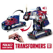 nerf remote control tank comaco toys transformers optimus prime nikko radio control
