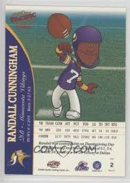 Backyard Sports Football 1999 Pacific Backyard Football 2 Randall Cunningham Comc