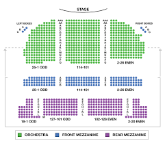 Red Rocks Seat Map Brooks Atkinson Theatre Broadway Seating Charts
