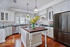 Wood Island Kitchen by 100 Stone Kitchen Island Kitchen White Kitchen Stone Floor