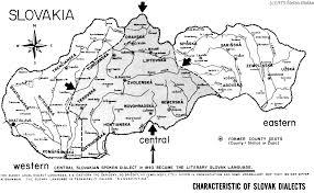 Slovakia Map Eastern Slovakia Map