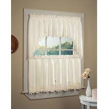 White Contemporary Curtains Kitchen Mesmerizing Kitchen Curtains Valances Contemporary