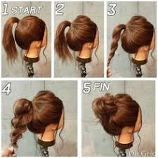 easy messy buns for shoulder length hair top 10 messy updo tutorials for different hair lengths bun