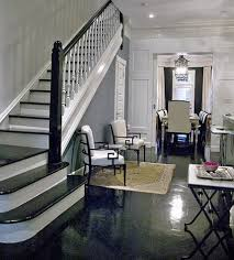 Best Paint For Stair Banisters Nifty Tip The Black Lacquered Banister Lorri Dyner Design