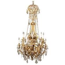 Crystal Ship Chandelier Late 19th C French Crystal Ship Chandelier At 1stdibs