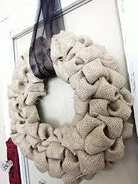 burlap wreaths burlap wreath hgtv