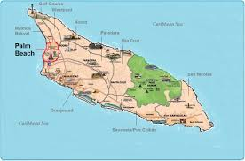 Palm Beach Map Aruba Real Estate And Property In Palm Beach For Homes