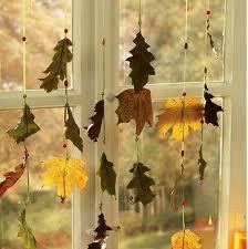 móbile de folhas secas artesanato e faça você mesmo