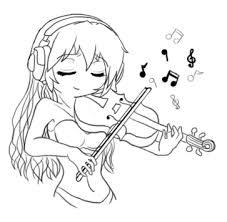 violin player by kuramachan on deviantart