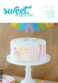 Cake Decorating Magazine Issues Sweet Magazine Issue Two Preview By Sweet Magazine Issuu