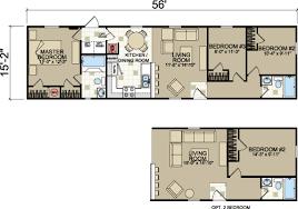 Single Wide Mobile Home Floor Plans 2 Bedroom 125 X 103 3 2 16x56 Champion Single Wide Floor Plan Tiny Houses
