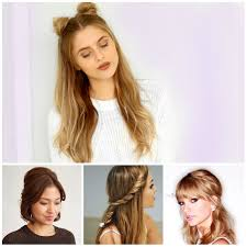 modern semi updo hairstyles u2013 new hairstyles 2017 for long short