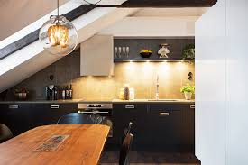 attic kitchen ideas black kitchen units interior design ideas