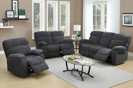 Living Room Decor Black Leather Sofa Sofas Center Oversized Sofa With Built In Reclinerhaise Lounge