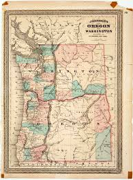 map of oregon and washington map of washington and oregon topographic map state and county maps