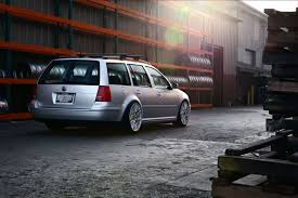 volkswagen wagon slammed silver vw jetta wagon rolling on polished rotiform wheels u2014 carid