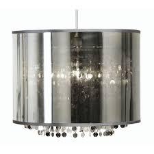 silver pendant light shade genoa silver glass pendant hanging l shade 14 inch oaks287 ch