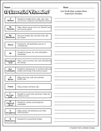 healthy living worksheets worksheets releaseboard free printable