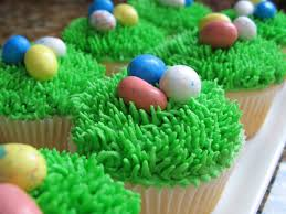 Easter Egg Cupcake Decorations by The Bake Off Flunkie Easter Egg Cupcakes