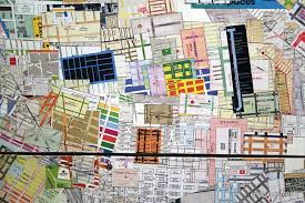 check out this giant map of nyc neighborhoods made from hundreds