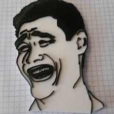 free meme faces 3d printer file cults
