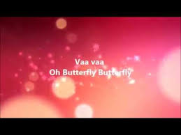 oh butterfly song lyrics free mp3