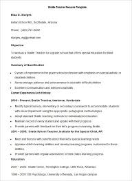 Taleo Resume Template Teacher Resume Templates Free Resume Template And Professional