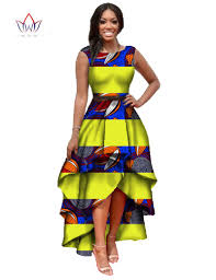 african clothes for women o neck african embroidery bazin dress