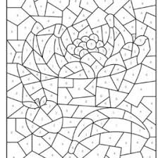 free printable color number coloring pages coloring free