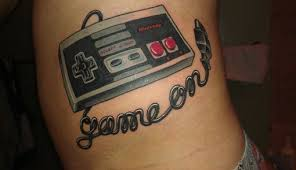 33 tattoos inspired by old video games modern man